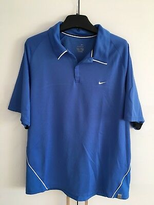 Nike Tennis Roger Federer 2006 French Open Dri Fit Polo Shirt Large