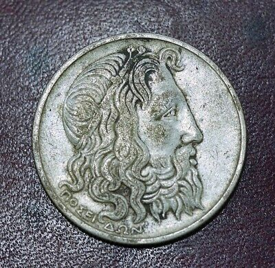 Greece 20 Drachmai 1930 Silver (#CG1111007)
