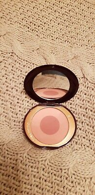 Charlotte Tilbury Cheek to Chic Blush in Sex on Fire used once to test
