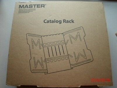 Martin Yale Master Catalog Rack Model 6G, Grey New in box!