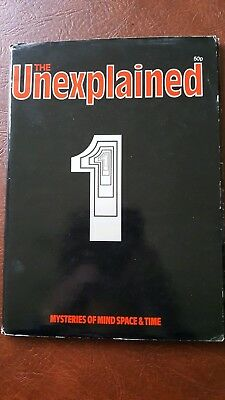 The Unexplained Magazine Issue #1  Mysteries Of Mind Space & Time 1981
