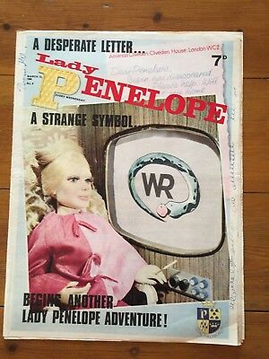Lady Penelope Comic No. 8 - 12.03.1966 - Vg- Rare Early Edition