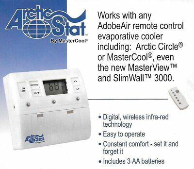 New Mastercool Arctic Stat Rct1000 - Thermostat - Ir Remote Technology