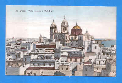 Cadiz - Vista General Y Catedral