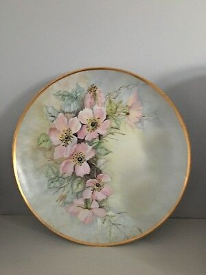 Hand Painted China and Porcelain Plate