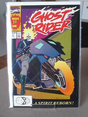 Ghost Rider #1 Origin & 1St Appearance On New Ghost Rider Lot  Texeira/kubert