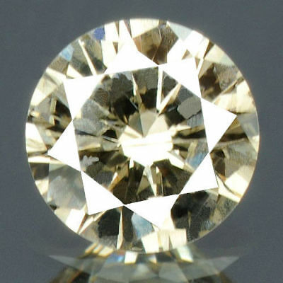 0.24 Cts certificado Redondo ardiente color blanco suelto diamante natural 12288
