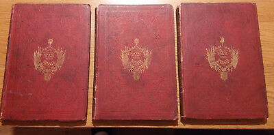 1856 The History Of The Present War With Russia Antique Books II III IV *RARE*