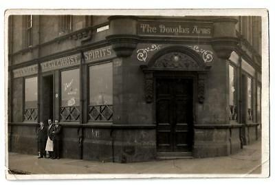 Motherwell - a photographic postcard of the Douglas Arms, Airbles Road