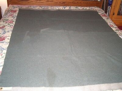 "Vintage ""Motecht Door MitIn"" Wool Blanket - DUTCH MADE"