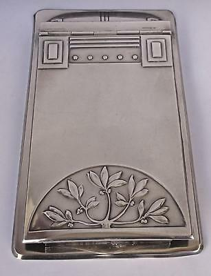 WMF Secessionist Art Nouveau Notebook Holder