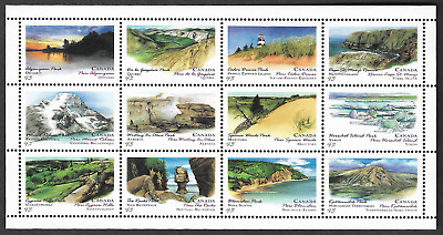 Canada Stamps - Full Pane of 12 - Canada Day, Algonquin Park #1483ai - MNH