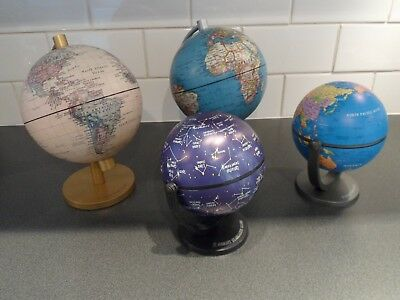 Vintage / Retro Collection of Insight World Globes and Stargazer Globe