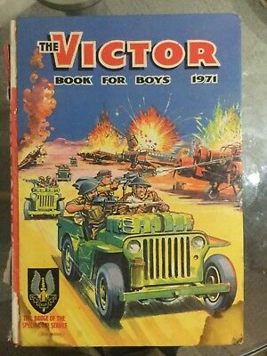 The Victor Book for Boys -  5 annuals.