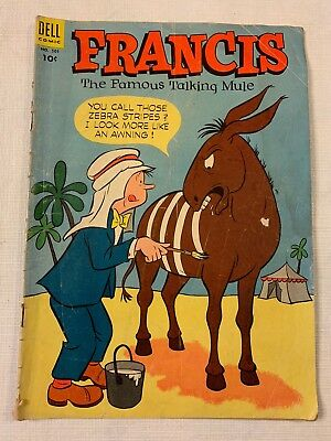 Francis The Famous Talking Mule Dell Comic Book #501 GD 1953