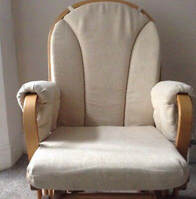 Nursing Glider Maternity Chair from John Lewis natural colour