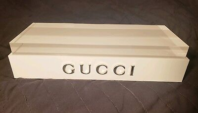 Authentic GUCCI eyeglasses sunglasses jewelry watches DISPLAY