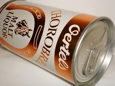 """OERTELS THOROBRED ML """"ZIP TOP"""" S/S Beer Can A204"""