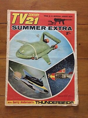 Tv Century 21 Summer Extra - 1966 - Vg - Rare 48 Page Bumper Issue