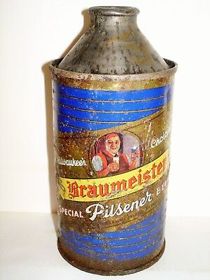 BRAUMEISTER PILSENER CONE TOP Beer Can A152