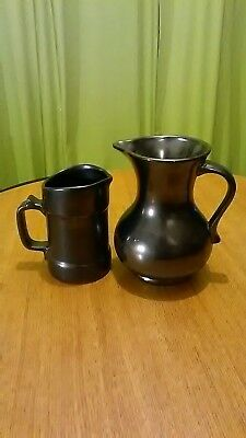 PRINKNASH, pottery jugs  in excellent condition