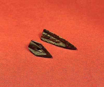 Lot of 2 Ancient Roman Arrowhead