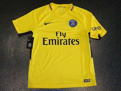 BNWT PSG Paris Saint-Germain Away Football Shirt  - Large