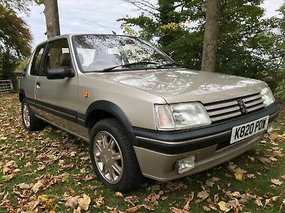 1993 Peugeot 205 Gentry Auto Full Mot Low Miles.