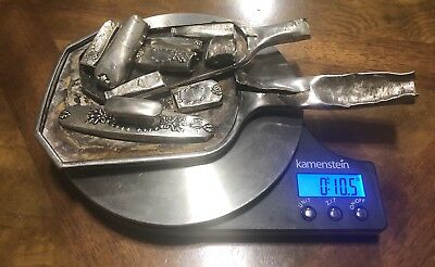 Solid Sterling Silver Scrap Lot 10.5 Oz (Not Weighted)