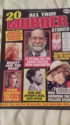 20 All True Murder Stories Magazine
