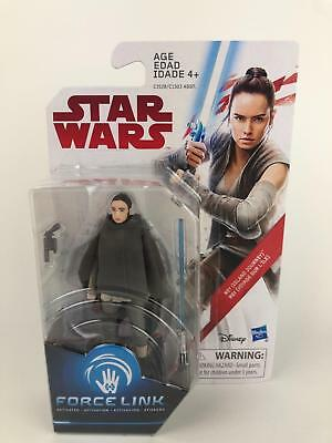 "Star Wars The Last Jedi (TLJ) Force Link REY (ISLAND JOURNEY) 3.75"" Figure"
