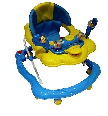 Baby Walker Push Along Duck First Steps Activity Bouncer Musical  Ride On Toys