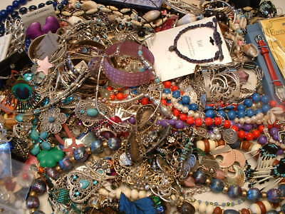 Vintage to Now Variety Costume Jewelry Lot ~ Wearable No Junk 300 Pcs ~ Resale