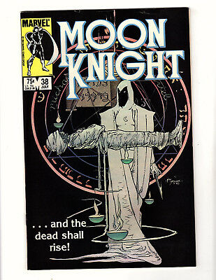 Moon Knight #38 (1984, Marvel) FN/VF Vol 1 Mike Kaluta Cover Final Issue!