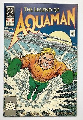 The Legend of Aquaman 1 Movie Coming!! Nice Copper Age Book!
