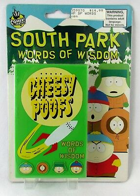 South Park Words of Wisdom Cheesy Poofs Talk Box Comedy Central 1998 Soundboard