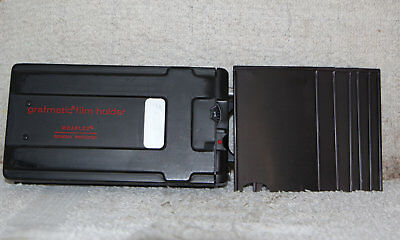 GRAFMATIC 23 FILM HOLDER 2 1/4 X 3 1/4 w/6 septums #2