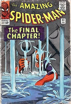 The Amazing Spider-Man #33 The Final Chapter! Doc Ock! Silver Age Marvel! 1966