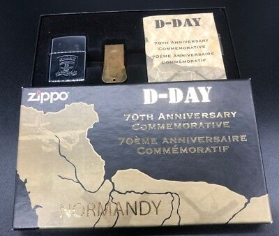 Zippo 1994 D-DAY 70TH Anniversary Lighter And ACME Cricket Set - Limited Edition