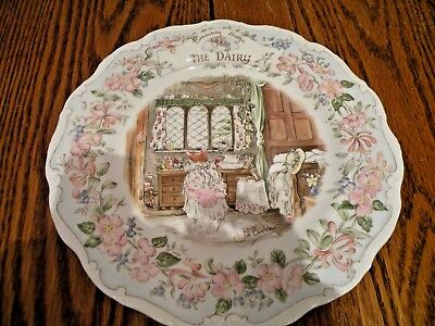 Royal Doulton Brambly Hedge  Plate 8 Inch The Dairy