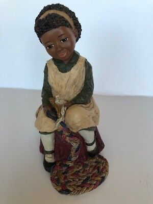 "ALL GODS CHILDREN ""Sharon #4 MARTHA HOLCOMBE FIGURINE limited early edition"