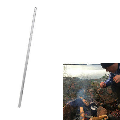 1x Stainless steel pocket bellows collapsible campfire fire tool hikingoutdoo SP