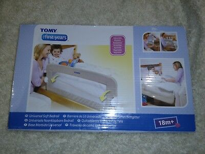 Tomy Univeral Soft Bedrail, Cream, Used, Great Condition