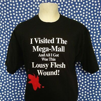 Funny vintage 1990's Mall of America t-shirt violence violent riot deadstock MOA