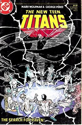 The New Teen Titans #2 Oct 1984