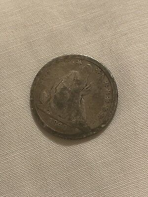 1840 seated one dime Silver