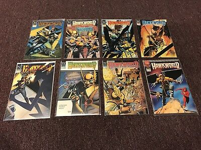 Hawkworld #1-7 plus Annual (1990, DC) Hawkman 8 Books Total