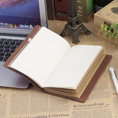 Portable Students School Writing Notebook Travel Diary Journal Planner Agenda Y