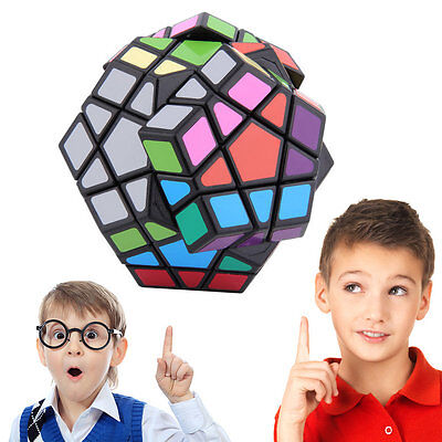 1pc New 12-side Megaminx Magic Cube Puzzle Twist Toy 3D CUBE Education Gift #G