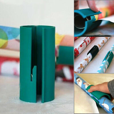 Little ELF Cutting Sliding Wrapping Paper Xmas Roll Cutter Made Easy and Fun Hot